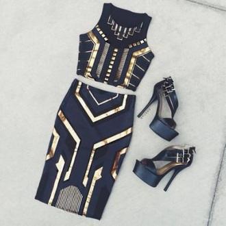 dress 2 piece skirt set 2piece dress