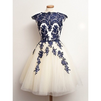 dress prom dress prom white blue floral floral dress