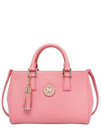 bag leather light pink light pink