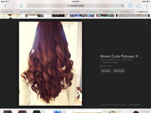 make-up curly hair korean fashion brown hair ulzzang cute big curls