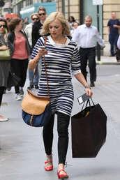 fearne cotton,stripes,dress