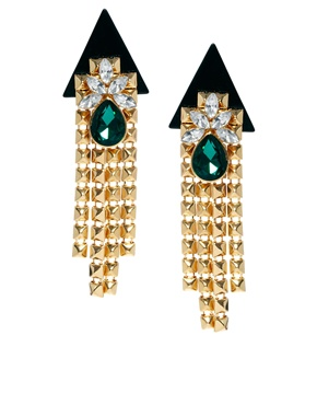 ASOS | ASOS Rocket Jewel Earrings at ASOS