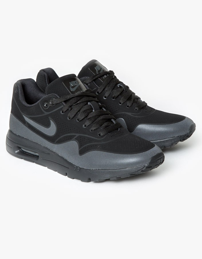 new arrival f5dc0 68f75 Womens Air Max 1 Ultra Moire - Black   Anthracite