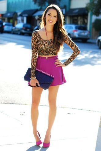 hapa time skirt t-shirt shoes belt jewels bag