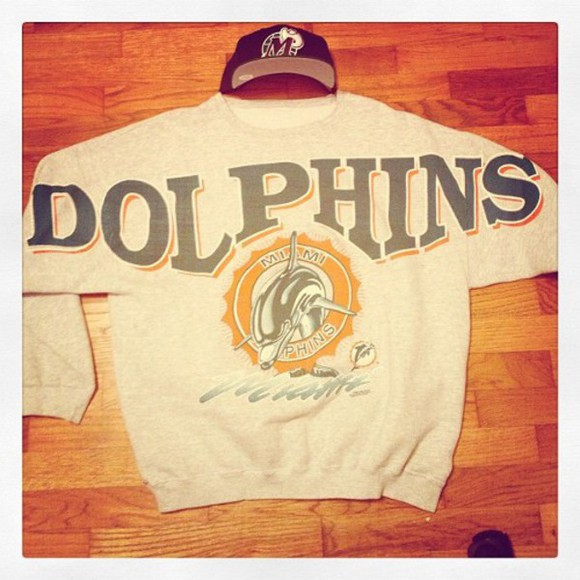 miami football nfl american football vintage dolphins sweater grey animal Miami Dolphins vintage pullover football shirts nfl jerseys animal print