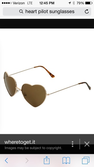 sunglasses heart sunglasse pilot glasses