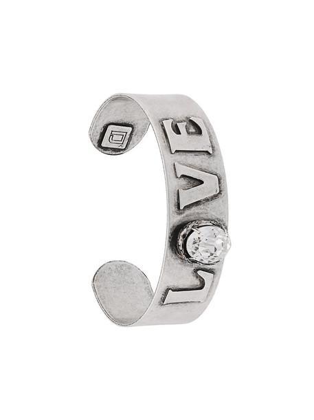 dannijo women silver grey metallic jewels