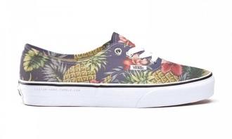 shoes vans shorts tropical sneakers flower print shoes vans of the wall