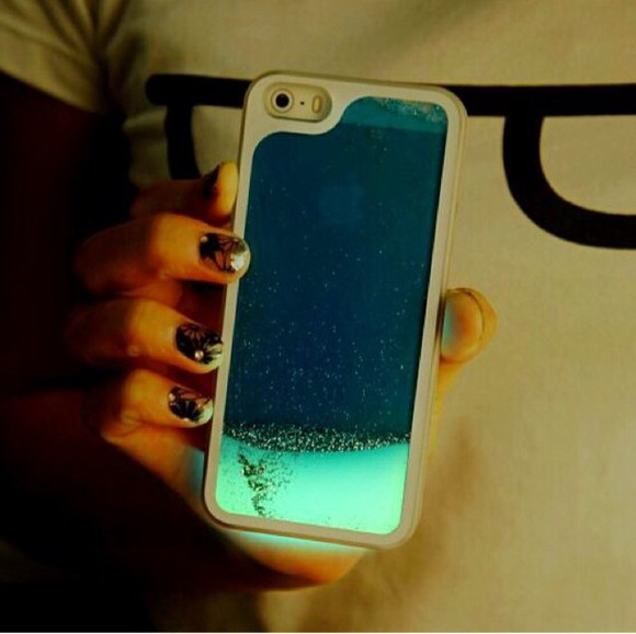 sea blue light blue neon iphone iphone case phone case iphone 5 cases iphone cases iphone 5s case apple apple phone apple iphone light love more iphone 5 case iphone 5 cover iphone 5