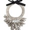 Night market chunky necklace, women's, metallic