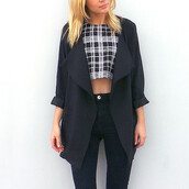 duster,drape,jacket,duster trench coat