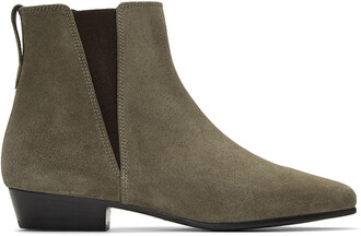 boots suede taupe shoes