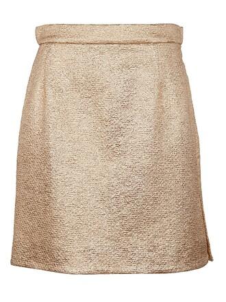 skirt mini skirt mini metallic red