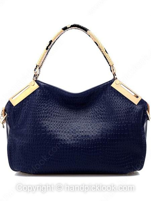 bag blue bag handbag Accessory