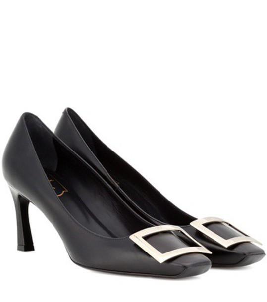 Roger Vivier pumps leather black shoes
