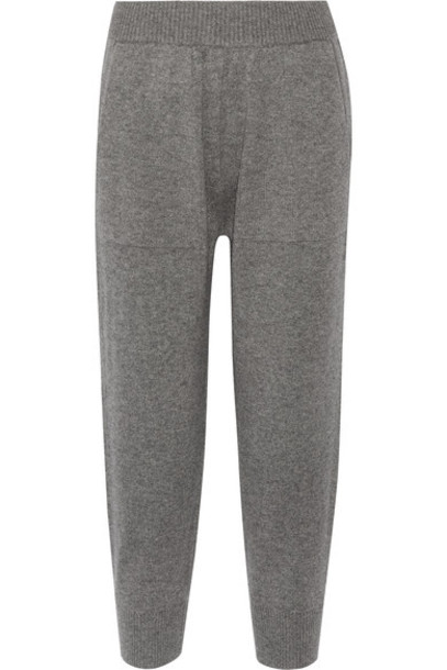 Michael Kors Collection - Cashmere Track Pants - Gray