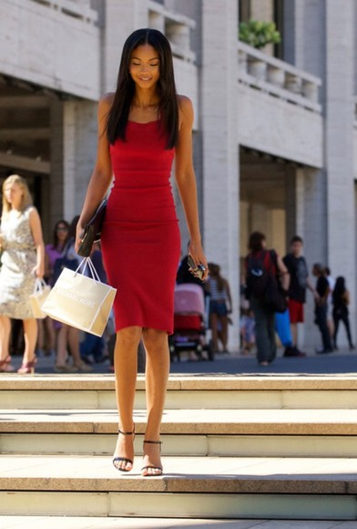 dress victoria's secret victoria's secret model chanel iman