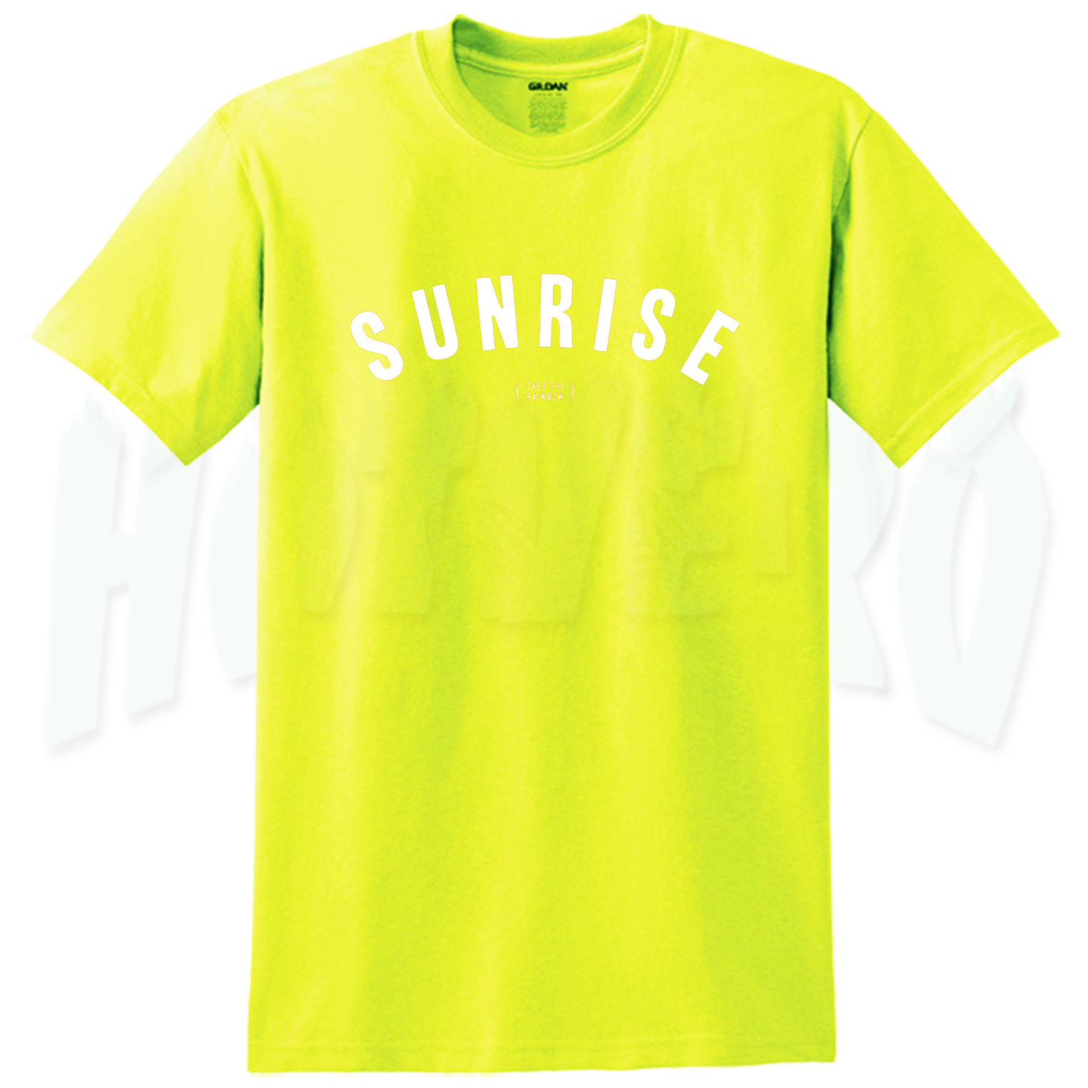 Sunrise Over The Rainbow Summer T Shirt For Teen - HotVero