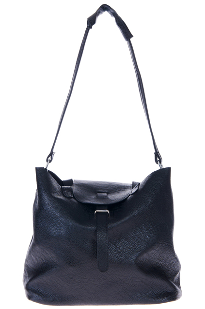 ROMWE | Dual-tone Black Faux Leather Bag, The Latest Street Fashion