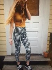 pants,checkered