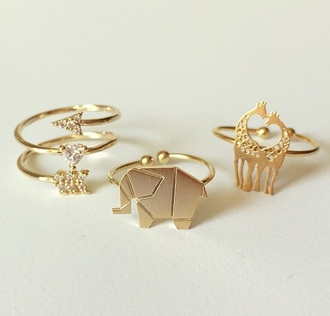 jewels missapple fashion style trendy girly girly wishlist rings and tings the bling ring rings cute summer jewelry ring gold midi rings golden rings diamond ring diamonds arrow elephant giraffe instagram