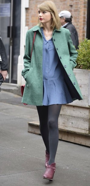 coat green coat green dress