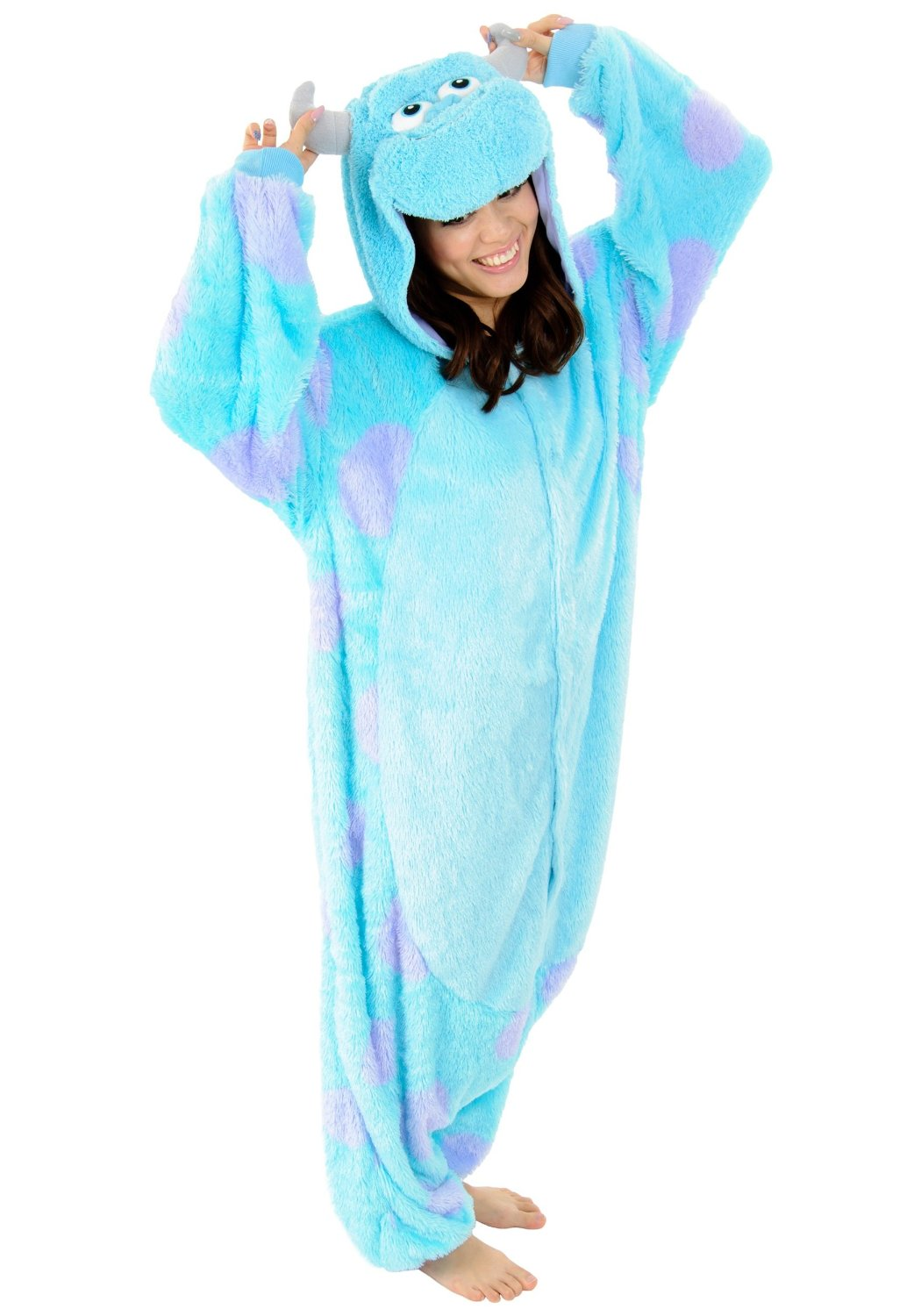 Blue Sully Animal Kigurumi Onesie - Available Now For $65. | Contacts Cow