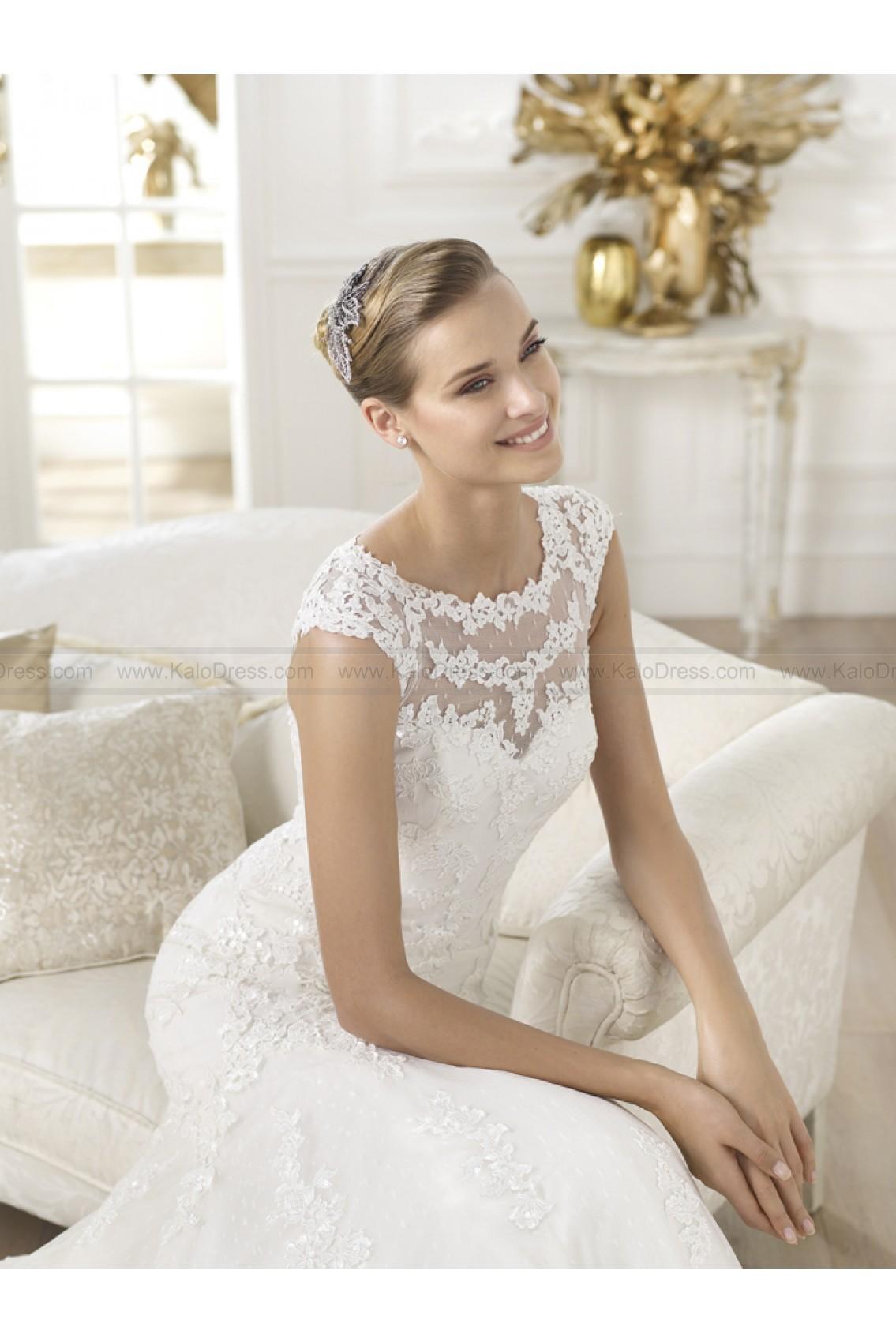 Pronovias Wedding Dresses - Style Landel - Wedding Dresses 2014 New - Formal Wedding Dresses