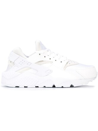 women run sneakers leather white shoes