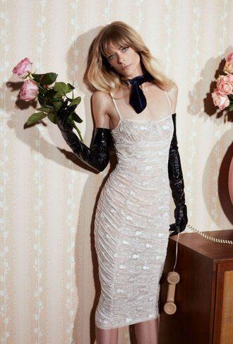 dress lace dress white white dress jaime king editorial