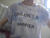shirt,clouds,t-shirt,cloud tshirt,couldn't be happier tshirt,couldn't be happier,blue white tshirt,blue white,blue tshirt,white t-shirt,white,blue,zalando,cloud shirt,aesthetic