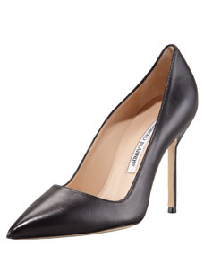 BB Pointed Toe Pump, Black