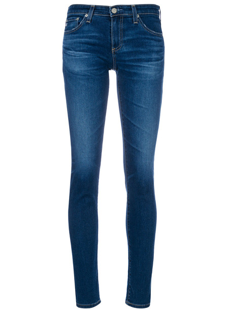 ag jeans jeans skinny jeans women cotton blue