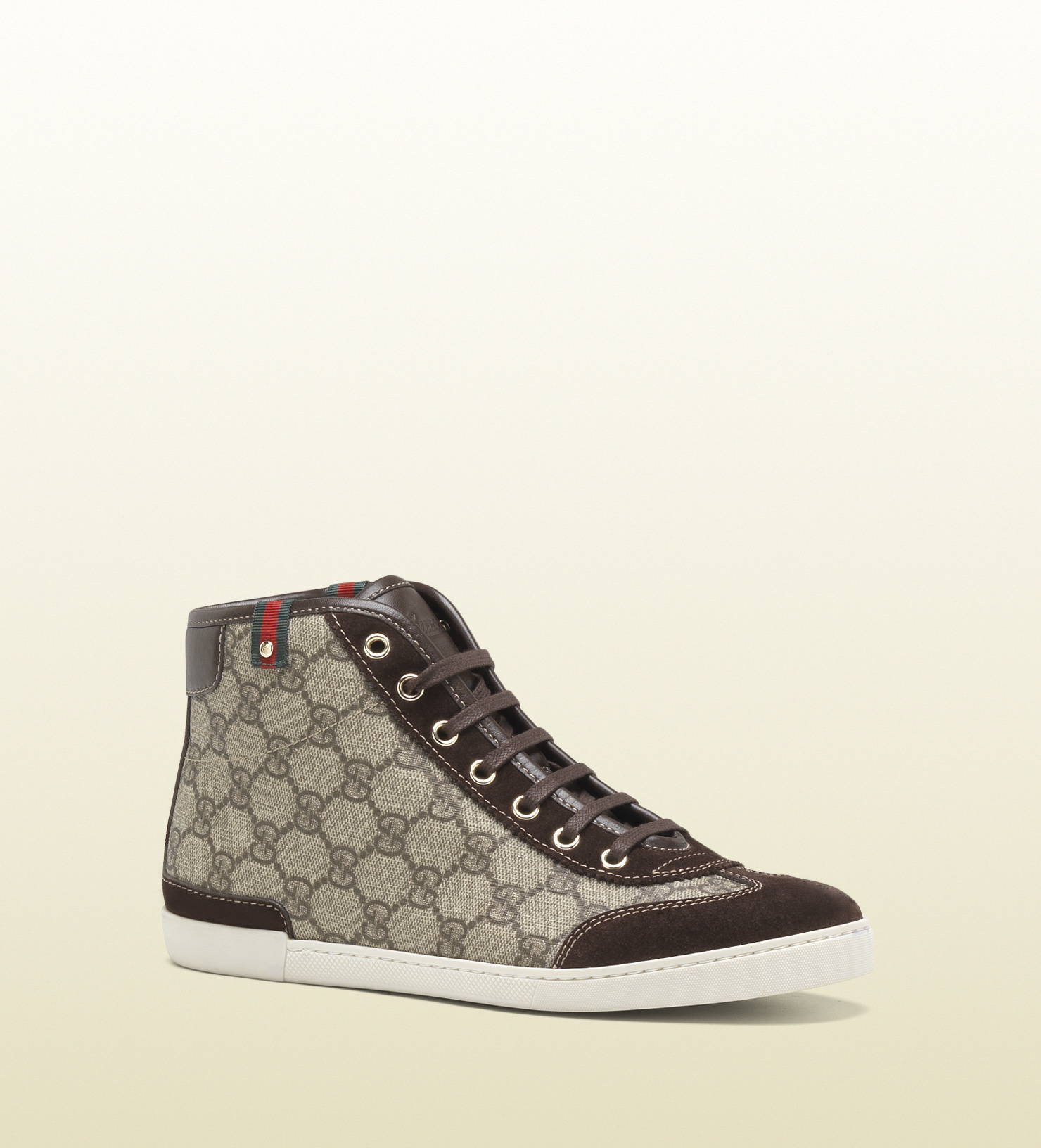 Gucci - barcelona mid-top lace-up sneaker 296568KGDO09762
