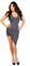 Asymmetrical cut out high low dress