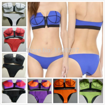 Aliexpress.com : buy 2015 summer hot sale triangle neoprene swimwear for women,neoprene push up overbust bikini swimsuit 8 colors biquini,size xs l from reliable swimwear pants for women suppliers on igoodbuy