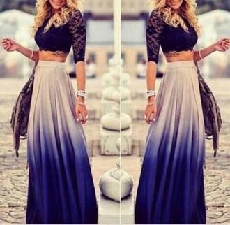 skirt maxi skirt ombre maxi skirt ombre ombre skirt