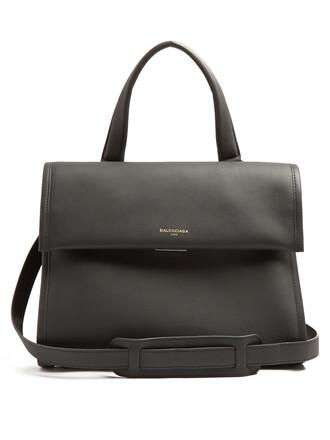 satchel bag satchel bag leather dark grey