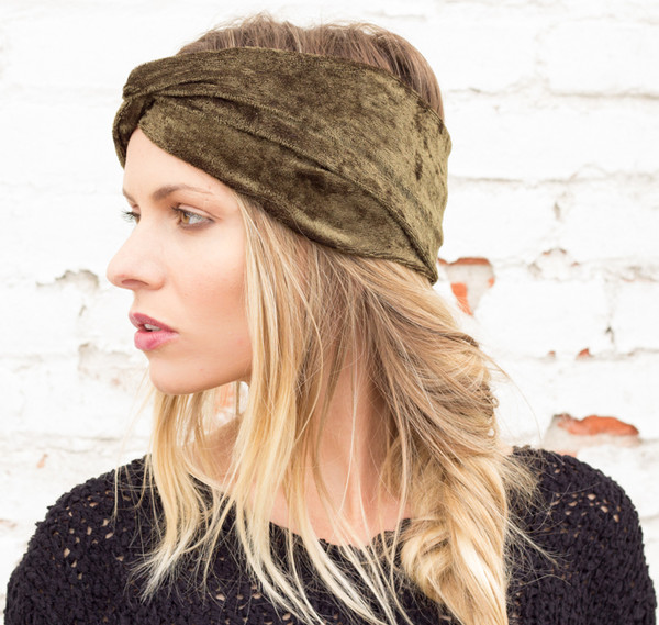 hat turban turband headband hair wrap velvet