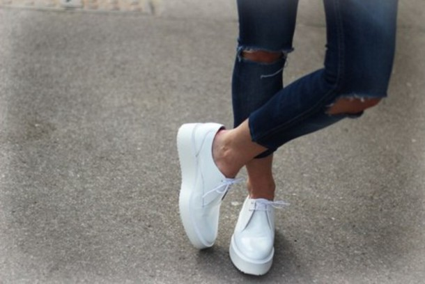 128956b95ecc shoes white platform shoes platform shoes loafers white shoes flat flats  sneakers zara summer laquer laque