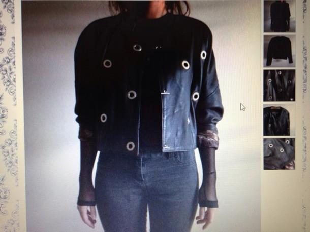 jacket vintage leather black punk stylish leather jacket vintage jacket punk jacket grange