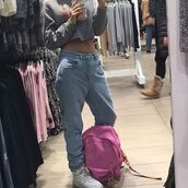 jeans,aesthetic,denim,cool,boyfriend jeans,blue jeans,cropped sweater,sweater