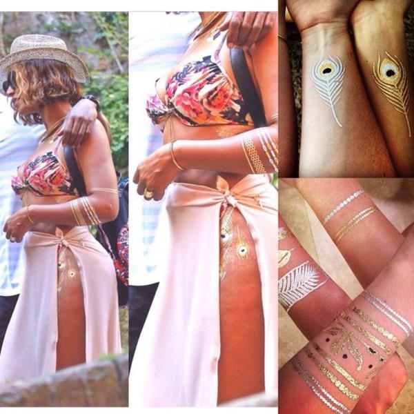 jewels temporary tattoo tattoo beyonce