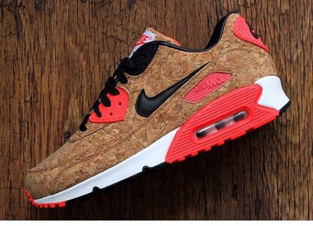 shoes pink white nike air max airmax 90's pink shoes sneakers nike air max neon pink sneakers customized kicks