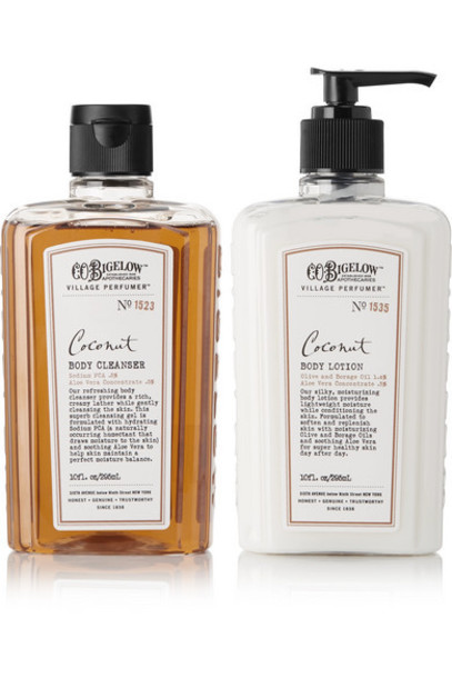 C.O. Bigelow - Coconut Body Lotion And Cleanser Set - Colorless