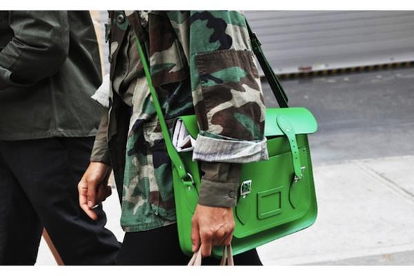 green bag bag