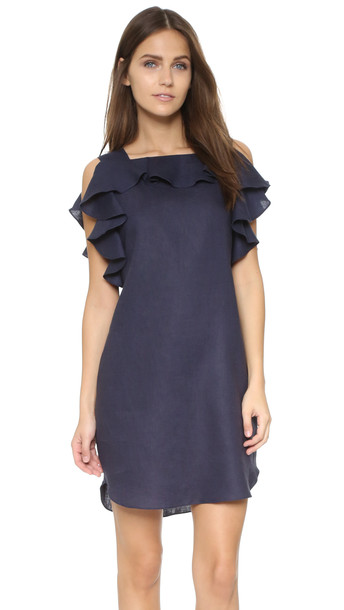 Amanda Uprichard dress navy