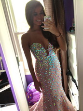 dress,prom,gems,jewels,pink,pink dress,tumblr girl,prom dress,long prom dress,sparkly dress,pretty,sequin dress,fashion,hipster,sparkle,diamonds,pink prom dress,pink prom dresses uk,pink prom dress 2014,find it :),diamante dress,baby pink strapless,baby pink,brunette,prom gown,sparkly prom dress,tan,formal,strapless,beading,low cut,formal dress,strapless dress,beaded,low neck,gorgeous,pink crystals prom dress,sequins,glitter prom dress,rime stones,gorgeous dress