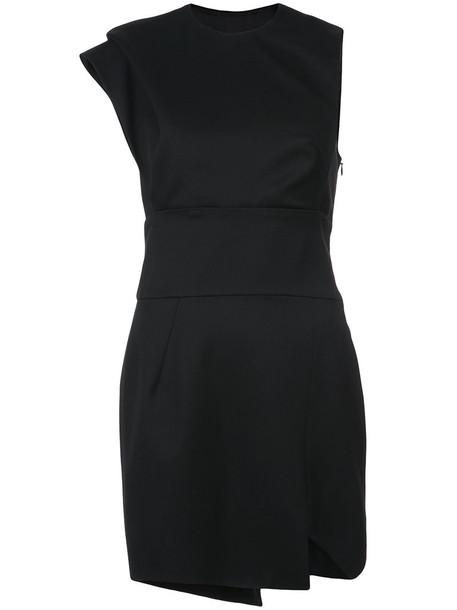 alexandre vauthier dress mini dress mini women black wool