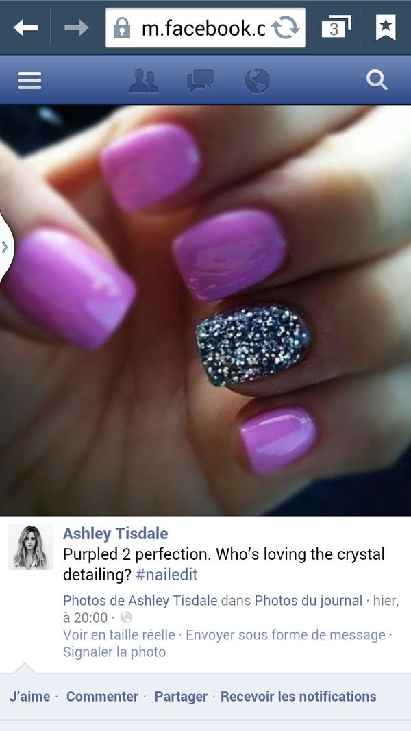 nail polish argent cristal
